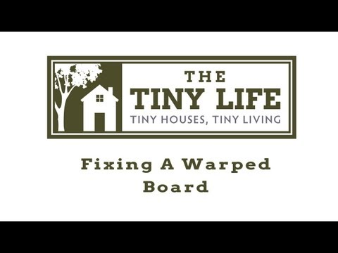 How to fix warped boards