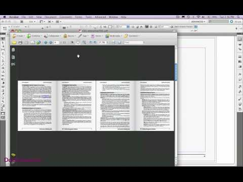 InDesign CS5 Hyperlinks and Flash Animation