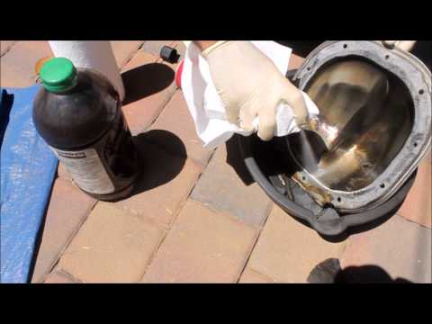 How to Change Mustang Differential Fluid and Gasket