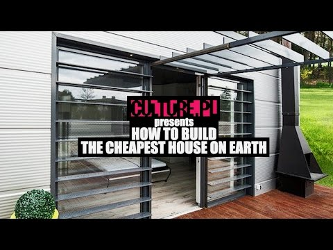 How to Build the Cheapest House on Earth – Video Explainer