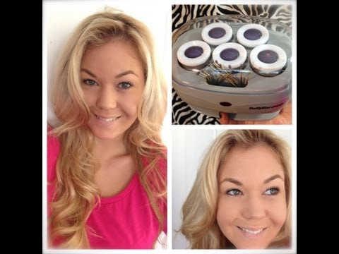 Hot Rollers to Create Volume