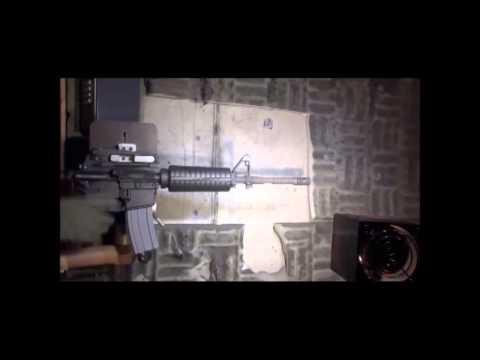 M4 vs. M4a1 carbine; destructive testing