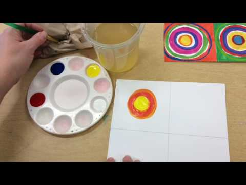 Painting Circles in the Squares