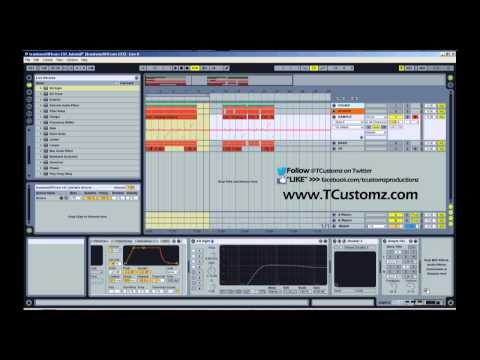 How To Add Effects to Sampled Beat in Ableton Live Tutorial - Hip Hop, Sampling, Drum Racks
