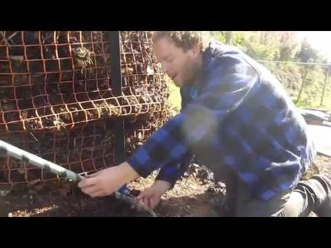 Hot water from compost - free biological energy