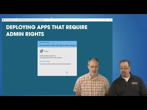 Deploying Apps that Require Admin Rights Using PolicyPak and PDQ Deploy