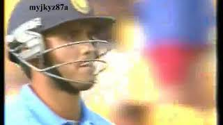 Match Highlights : India beat New Zealand at Wellington (5th ODI)  2002/03