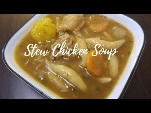 Trinidad Stew Chicken Soup - Episode 15