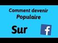 Comment Devenir Populaire Sur Facebook 1 mp3