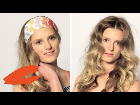 How to do a super 70s hair with Bruce Masefield | Get The Gloss