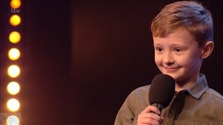 Britain's Got Talent 2017 Ned Woodman 8 Year Old Comedian Full Audition S11E01