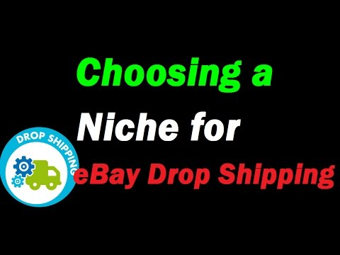 Choosing a Niche for eBay Drop Shipping - Not like Shopify Drop Shipping. We Sell what