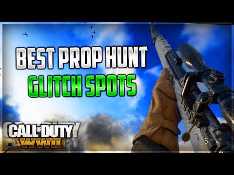 WW2 - Best *PROP HUNT* Glitches and Hiding Spots!