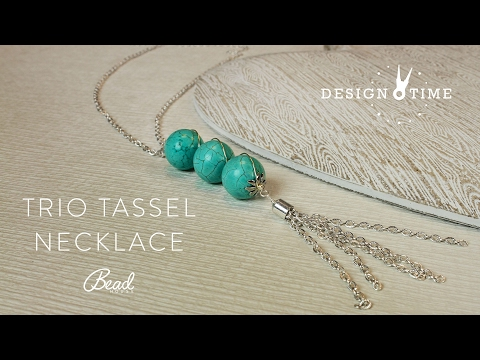 Trio Tassle Necklace Kit - Design Time