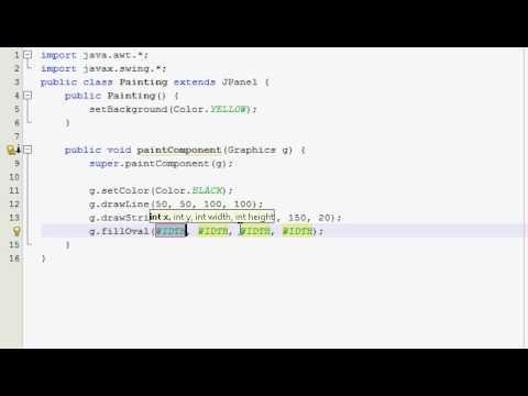Java Graphics Tutorial 2 - Painting stuff