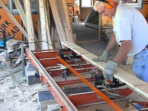 Wood-Miser LT15 clapboard sawmill in Maine