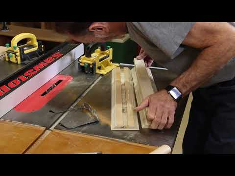 Part 2  - Under Table Saw Storage Cabinet  - The Down to Earth Woodworker