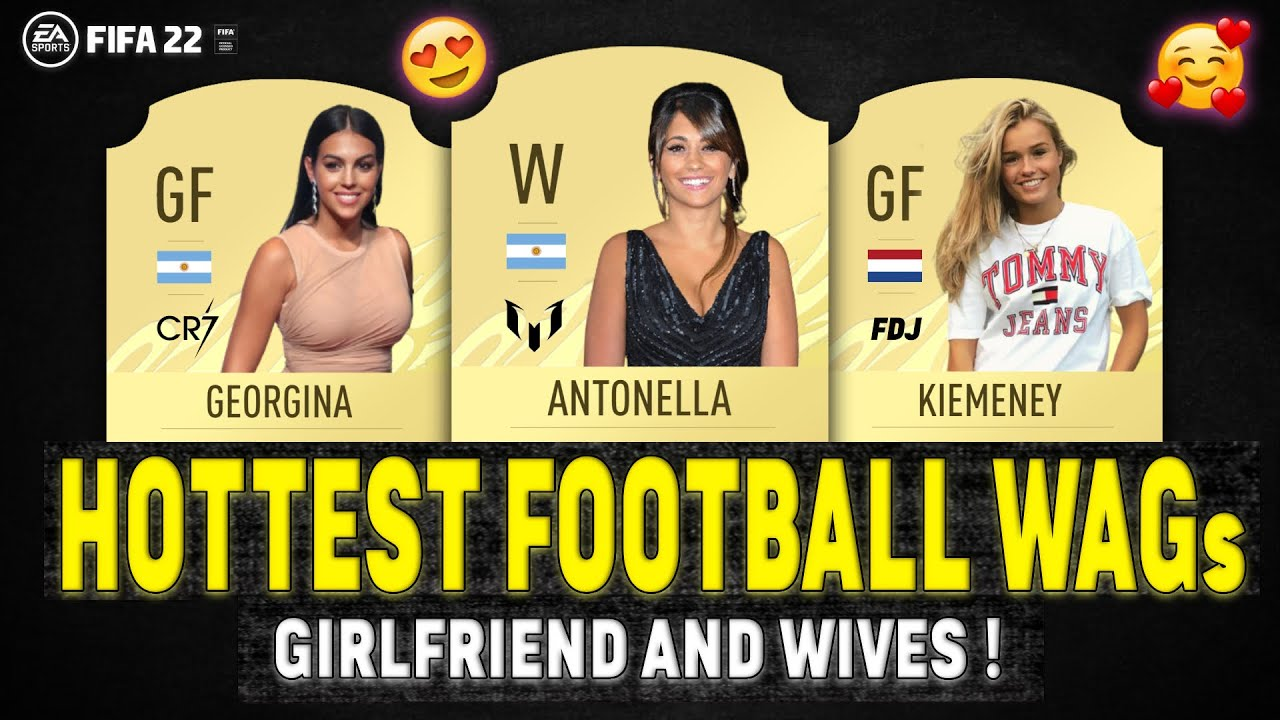 Football Players WIVES & GIRLFRIENDS (WAGs)! 😍😱