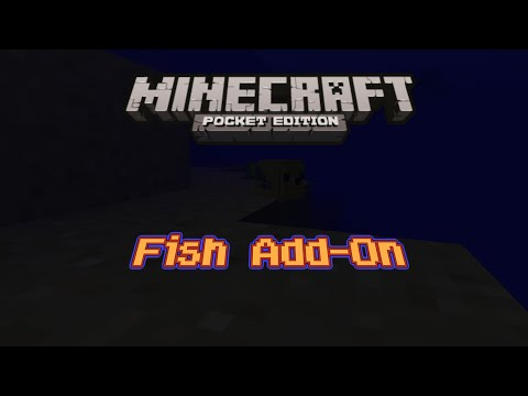 Fish In Minecraft PE Add-On!