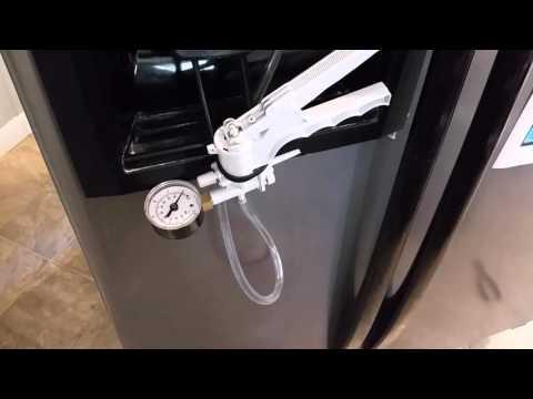 Whirlpool Water Dispenser water line purging with Vinegar