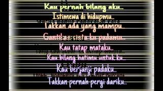 Lirik Gita Gutawa Rangkaian Kata