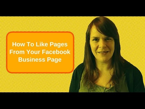 How To Like Pages From Your Facebook Business Page