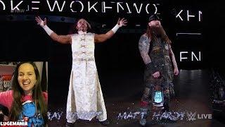 WWE Raw 4/16/18 Bray Wyatt Matt Hardy entrance mashup