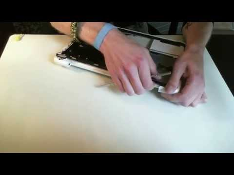 How to replace only the keyboard on the macbook unibody a1342