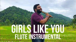 Maroon 5 - Girls Like You | Flute Insrumental By Asitha Senavirathne