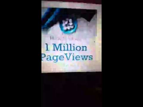 Get 1 million page views on your blog.