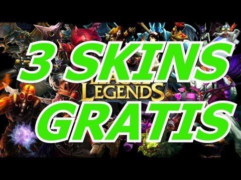 Tutorial de 3 SKINS GRATIS! | League of Legends (SOLO EUW)