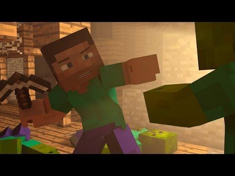 Zombie Encounter - Minecraft Animation