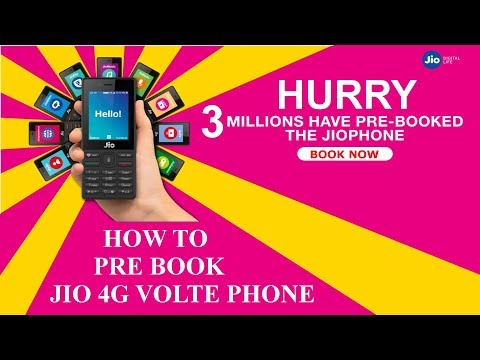 How to Pre Book Jio Feature Phone Online Step By Step Process.