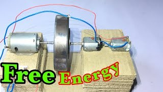 How to make free energy A fly wheel generator | Self running generators | home invention.
