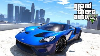 MICHAEL BUYS 2017 FORD GT - FASTEST CAR IN GTA V? GTA V REAL LIFE MOD