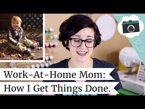 Work at Home Mom Life - How I Get Things Done   @laurenfairwx