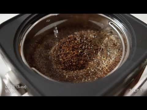 How to Brew With The KitchenAid Artisan Cold Brew Coffee Maker