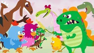 Dino E Dina Dinossauros Volume 1 Episodios 1 A 5 Desenho