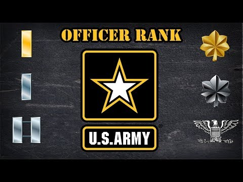 Explaining the US Army officer ranks