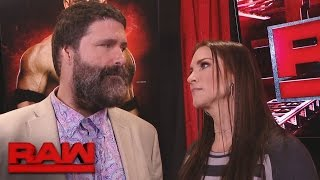 Stephanie McMahon gets brutally honest with Mick Foley: Raw, Feb. 27, 2017
