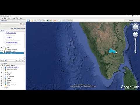 Add Shapefile in Google Earth