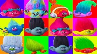 The Trolls Board Game with PJ Masks Romeo Catboy, Moana, Peppa Pig, Paw Patrol, Spiderman