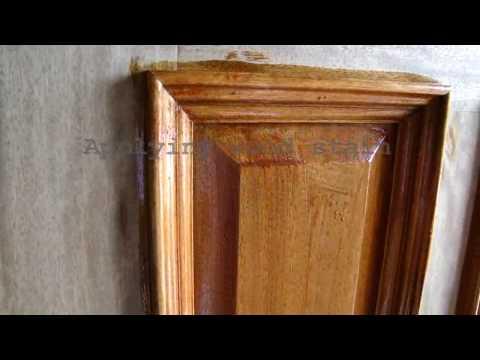 Wood Door Refinishing | Dallas FT. Worth | Staining and Sealing | Door finish Varnish | Restoration