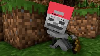 Skeleton Life - Craftronix Minecraft Animation