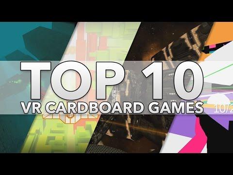 Top 10 Best Google Cardboard VR Games