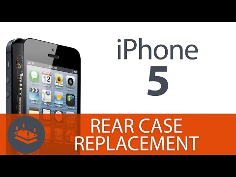 How To: Replace the iPhone 5 Rear Case