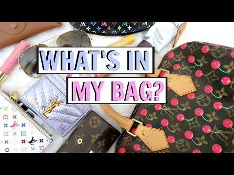 WHATS IN MY *NEW* BAG?! VINTAGE LOUIS VUITTON CERISES