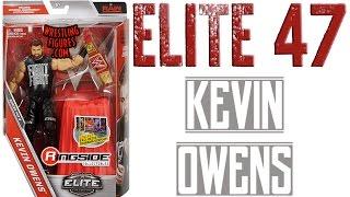 WWE FIGURE INSIDER: Kevin Owens - WWE Elite Series 47 WWE Toy Wrestling Action Figure