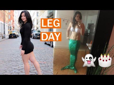 NPC Figure Leg Workout Fueled by BPI Sports