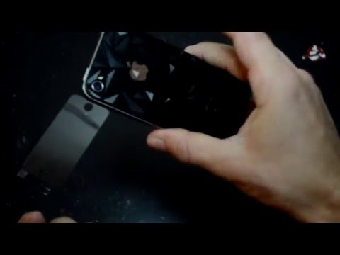 iPhone 4, iPhone 4s Screen Protector  Tempered Glass  unboxing